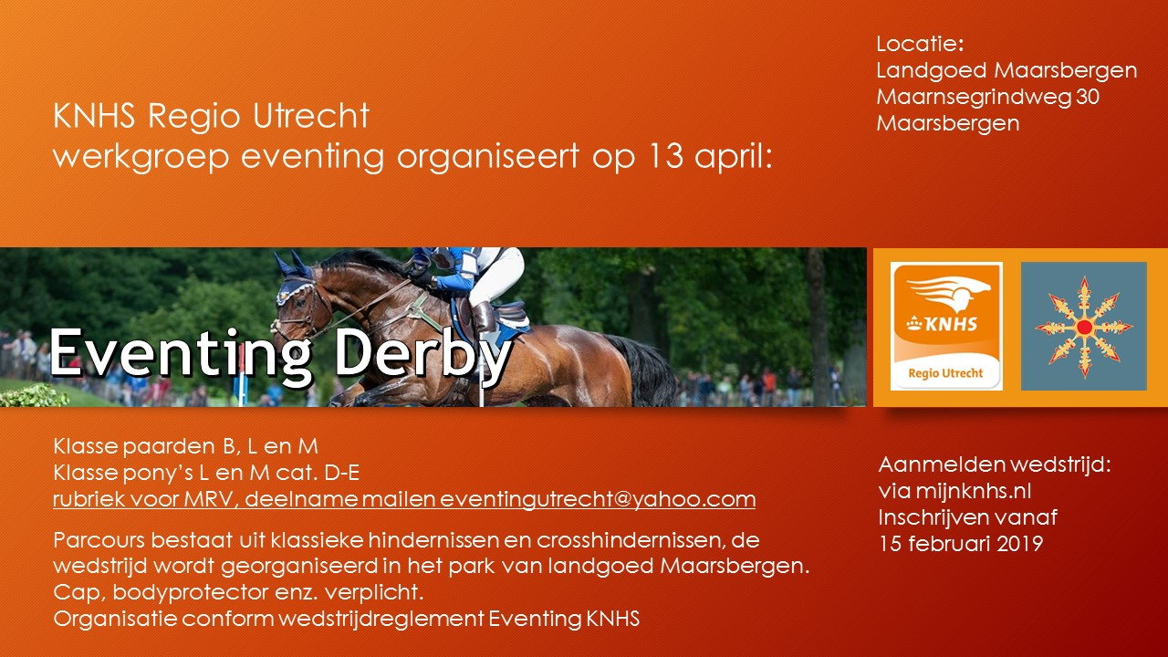 Eventing Derby 2019
